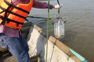 Gói thầu: Quan trắc và giám sát MT – Dự án Nạo vét luồng và chỉnh trị kè hành lang 3 sông Ninh Cơ